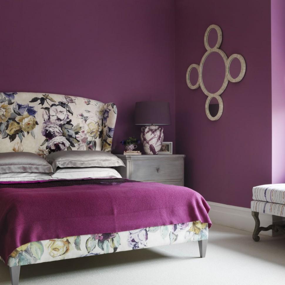 Purple bedroom ideas – Purple decor ideas – Purple colour scheme - Bedroom Ideas Purple