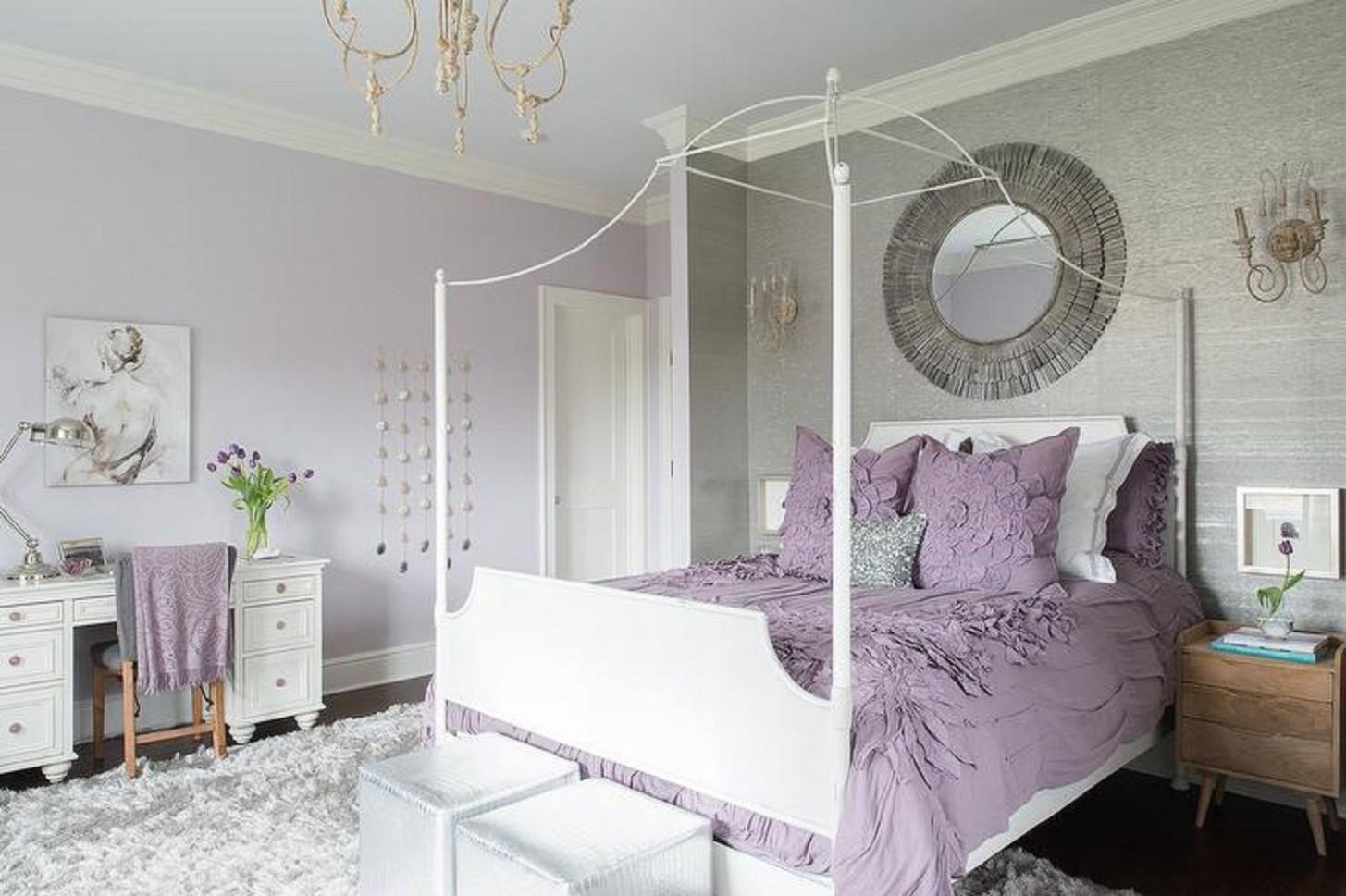 Purple Bedrooms Tips and Decorating Ideas - Bedroom Ideas Purple