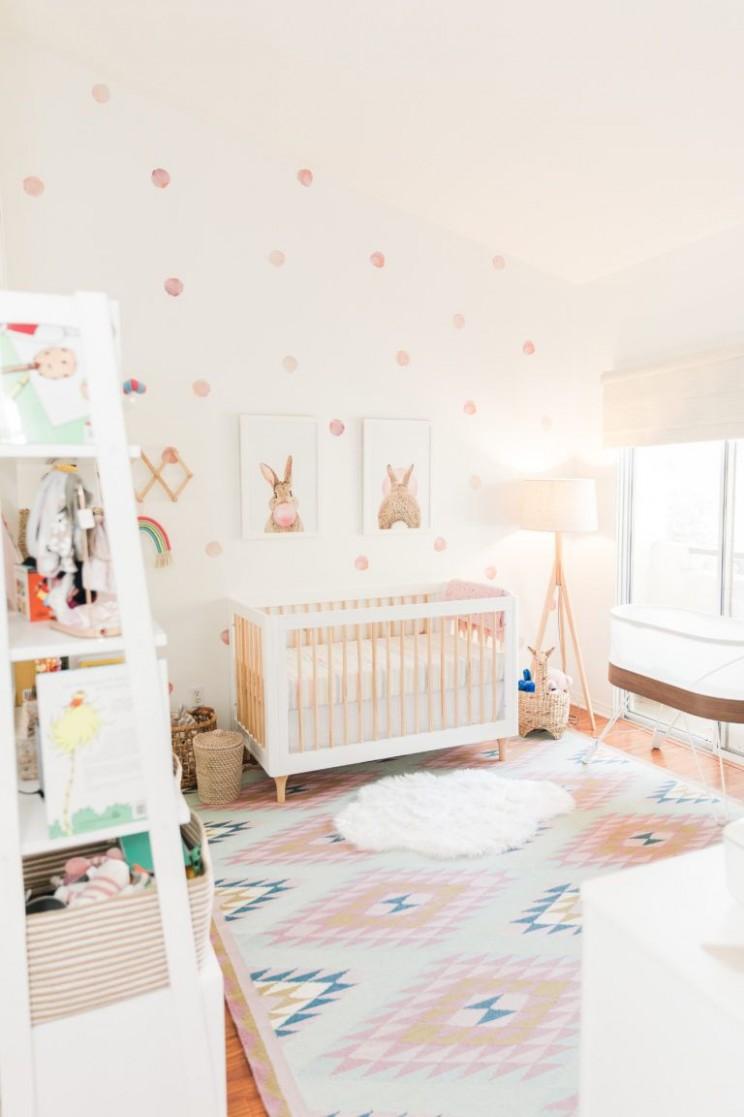 Rainbow Inspired Nursery - Project Nursery in 10  Baby girl  - Baby Room Themes