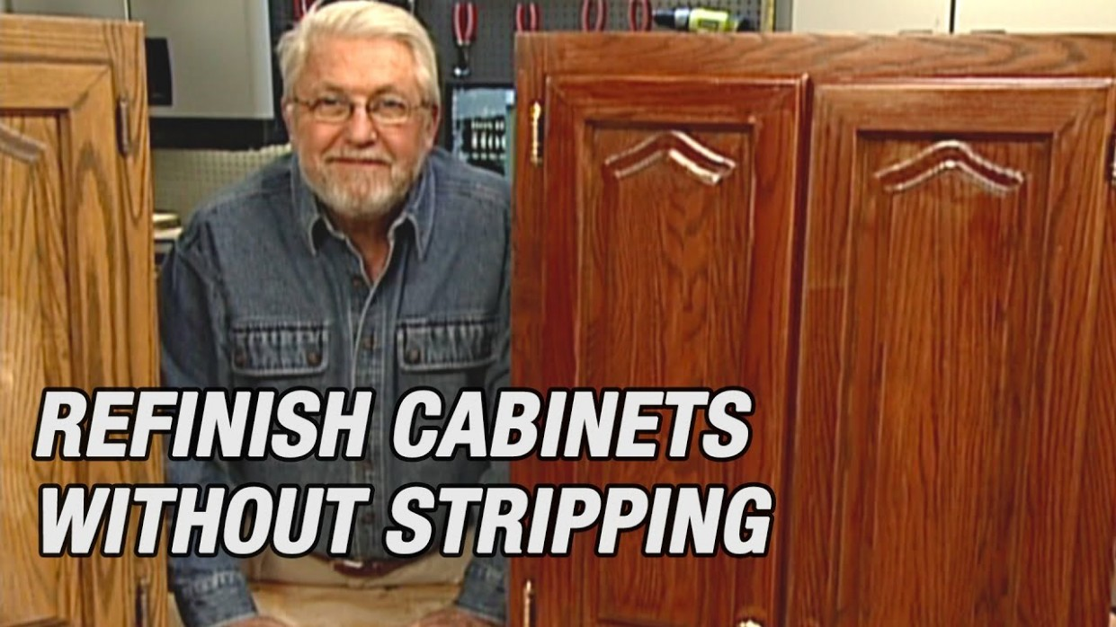 Refinish Kitchen Cabinets Without Stripping - How To Clean And Varnish Kitchen Cabinets