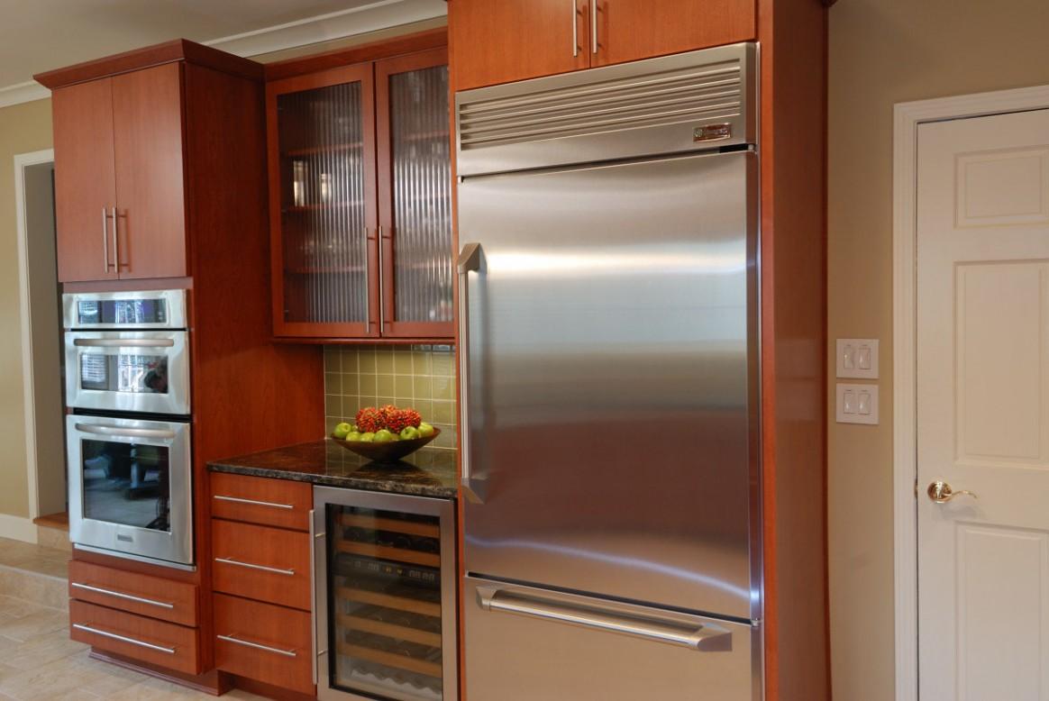 Refrigerator Basic Options Explained - Momentum Construction - Kitchen Cabinet Dimensions Refrigerator