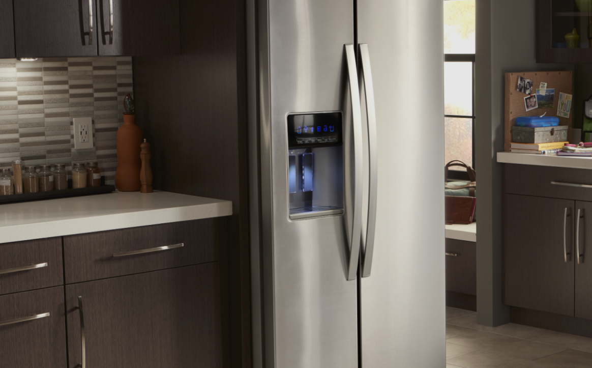 Refrigerator Sizes: The Guide to Measuring for Fit  Whirlpool - Kitchen Cabinet Dimensions Refrigerator
