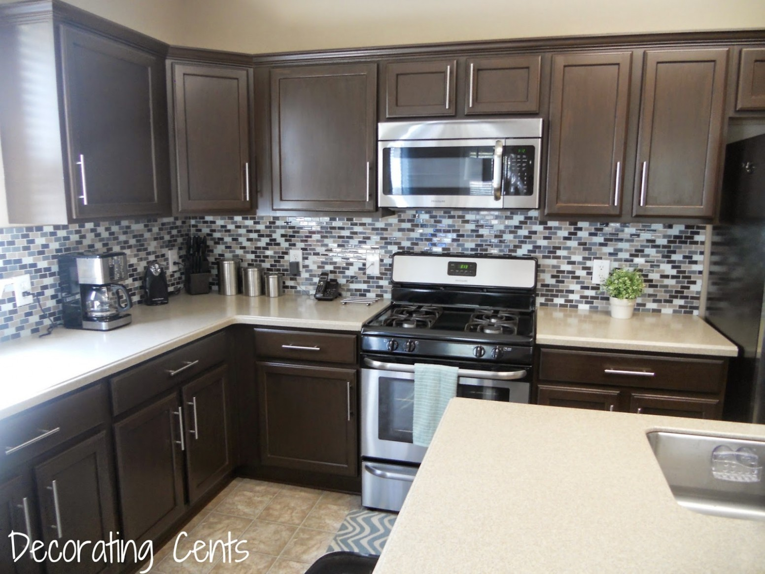 Remodelaholic  DIY Refinished and Painted Cabinet Reviews - Rustoleum Kitchen Cabinet Paint Kit Reviews