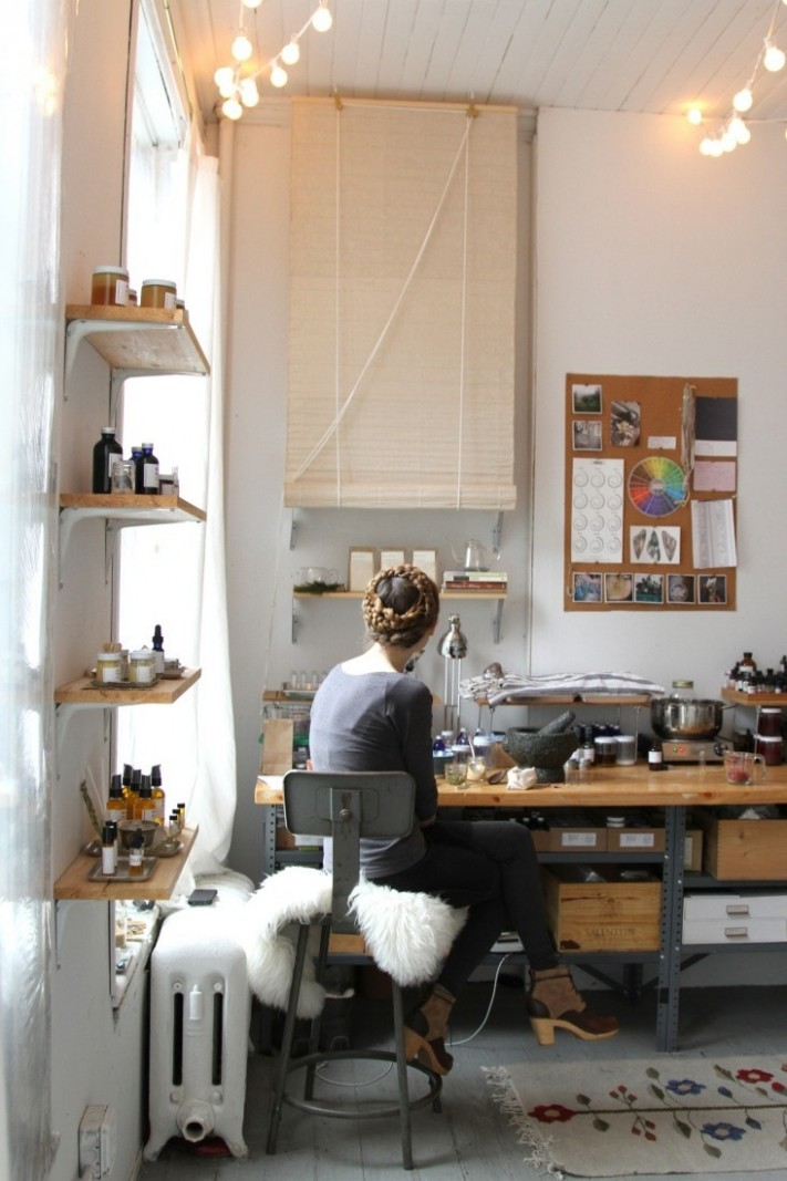 Remodeling 8: How to Light Your Home Office - Remodelista - Home Office Ideas Lamp