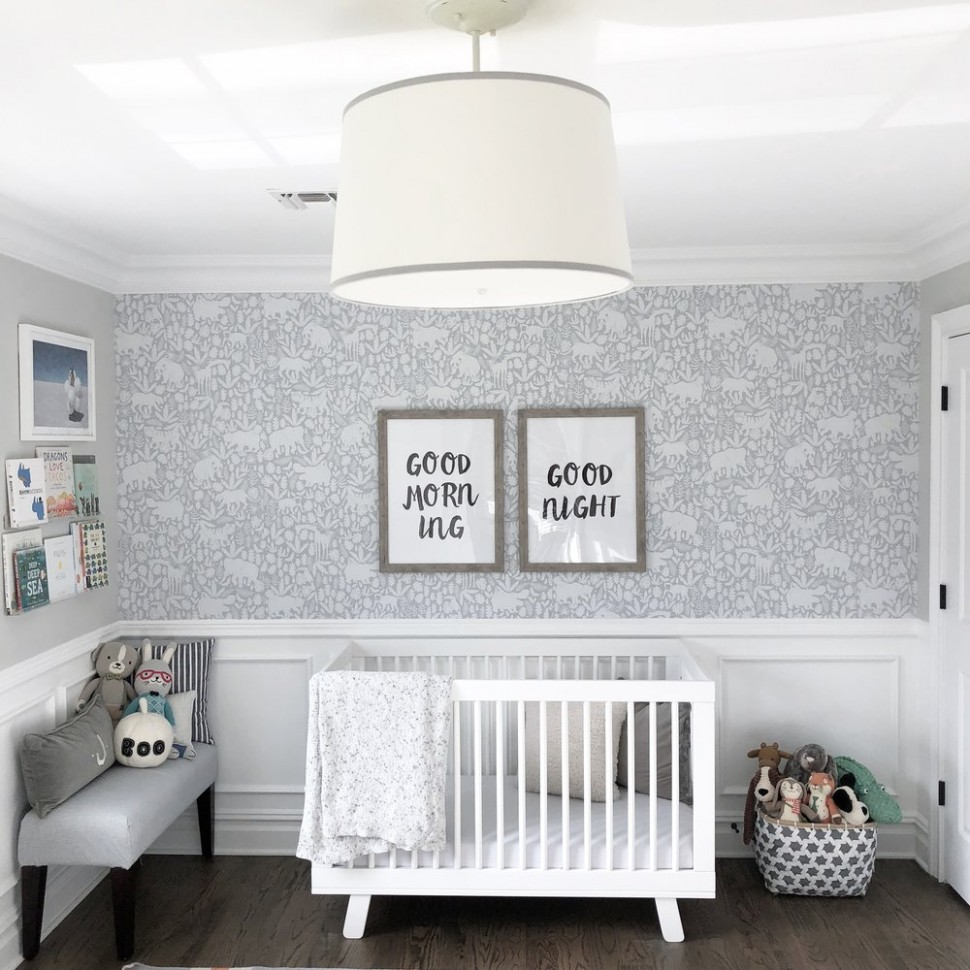 Removable Wallpaper Roundup: Baby/Kids Edition — Girl on the Hudson - Baby Room Wallpaper