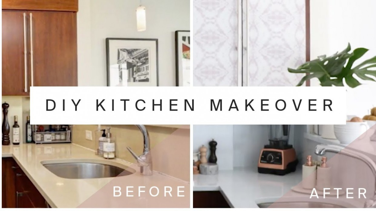 RENTAL KITCHEN MAKEOVER  DIY Marble Countertops & Cabinet Transformation  With Contact Paper - Temporary Kitchen Cabinet Covers