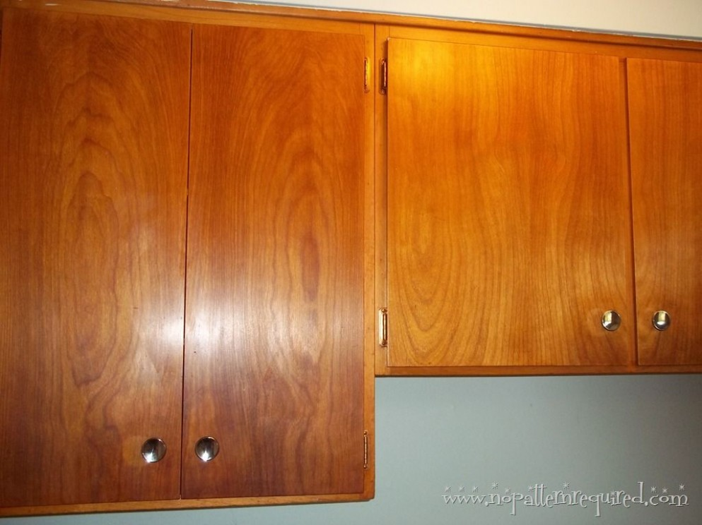 Restoring Mid-Century Wood Cabinets — To clean and restore the  - How To Clean And Varnish Kitchen Cabinets