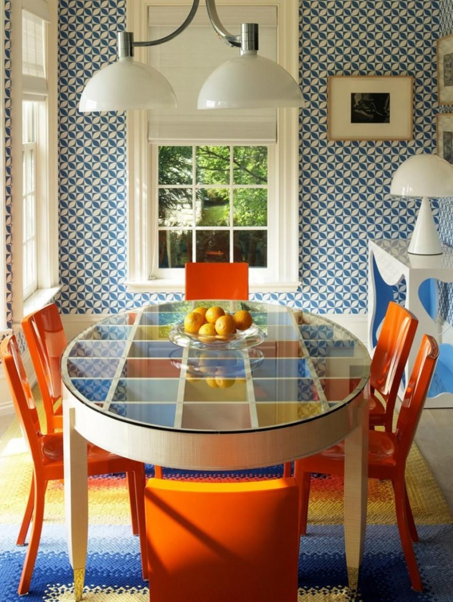 Retro Style interior design ideas - Dining Room Ideas Retro