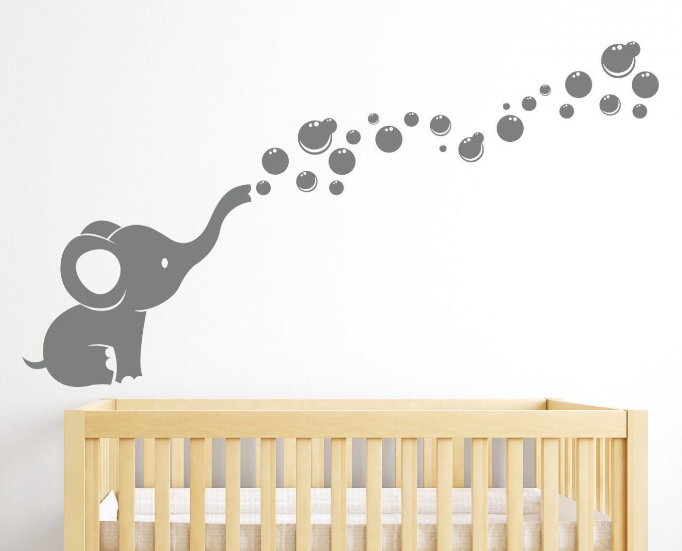 Robot Check  Baby elephant nursery, Baby room decor, Nursery wall  - Baby Room Vinyl Wall Art