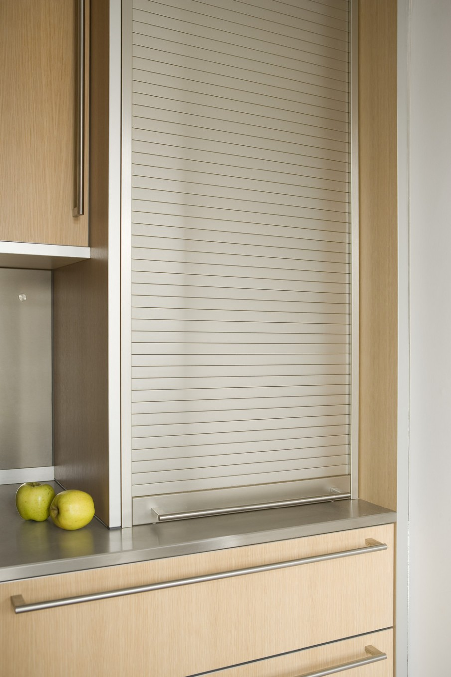 Roller Shutter Photos, Design, Ideas, Remodel, and Decor - Lonny - Aluminum Roller Shutters For Kitchen Cabinets
