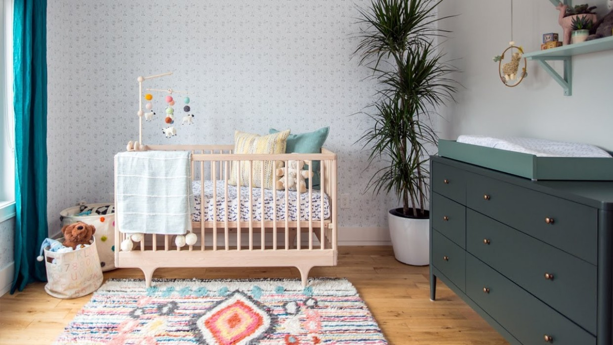 Room Tour: A Nursery Designed To Grow With Baby - Baby Room Youtube
