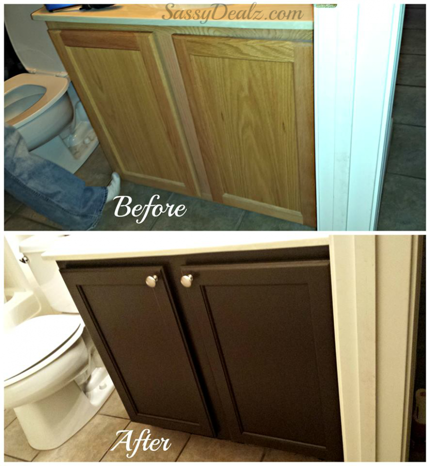 Rust-Oleum Cabinet Transformation Review (Before & After Pictures  - Rustoleum Kitchen Cabinet Paint Kit Reviews