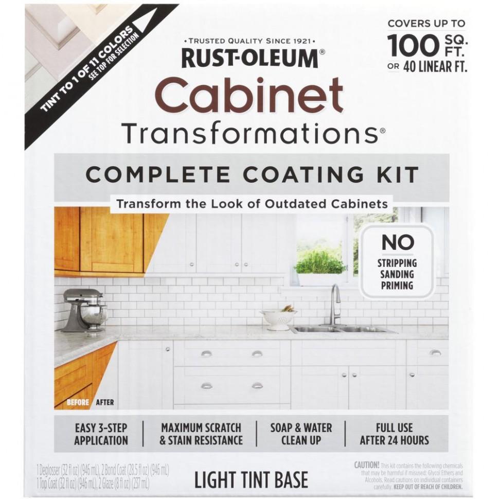 Rust-Oleum Transformations Light Color Cabinet Kit (11-Piece) - Rustoleum Kitchen Cabinet Paint Kit Reviews