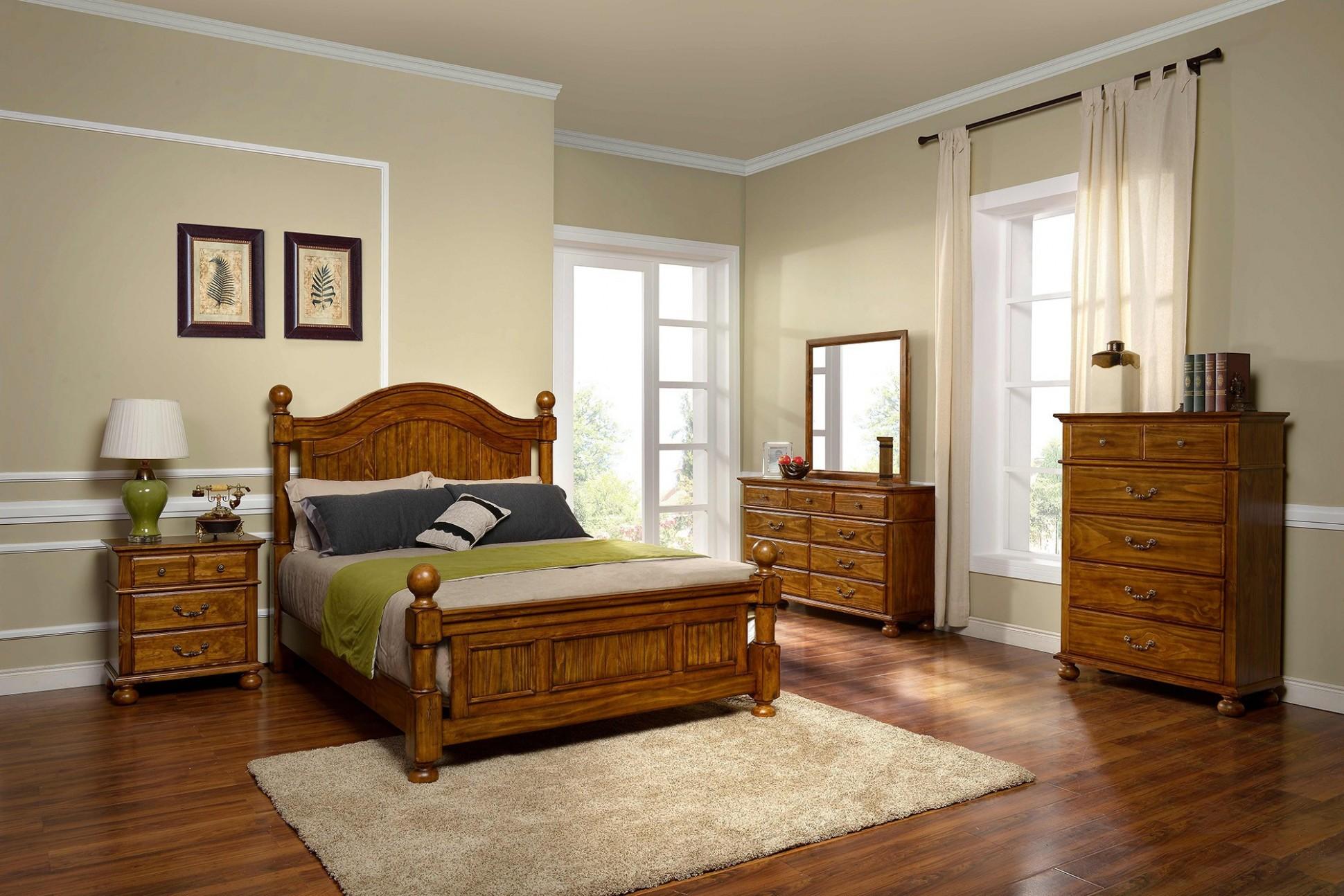 Rustic Wood Bedroom Furniture Light Oak Pine Ideas Sets Natural  - Bedroom Ideas With Oak Furniture