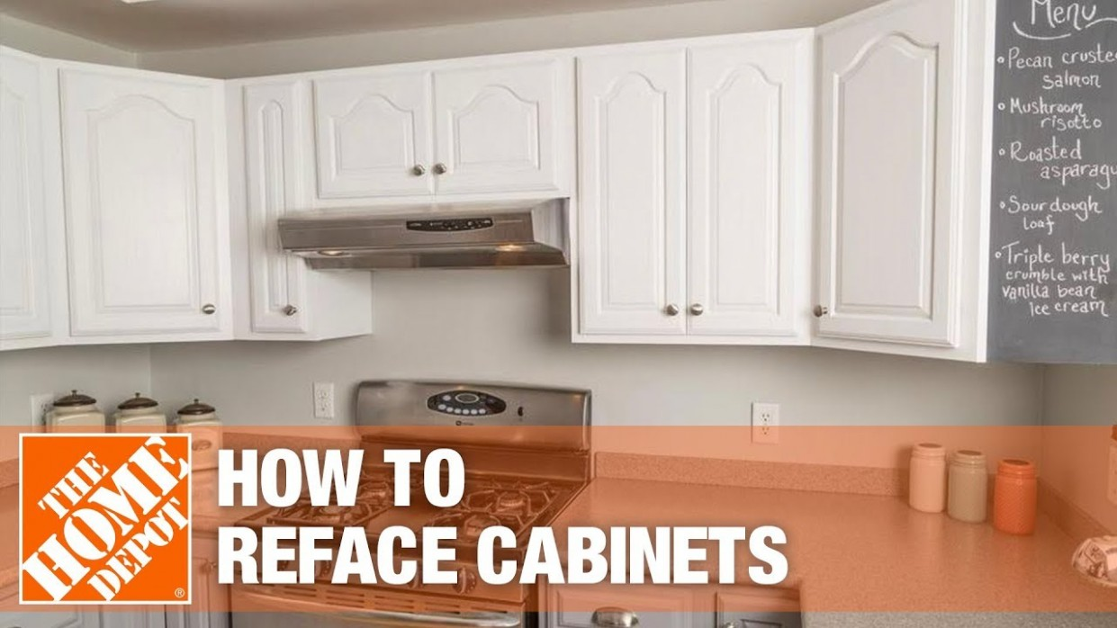 Rustoleum Cabinet Refacing  The Home Depot - How To Reface Kitchen Cabinets With Paint