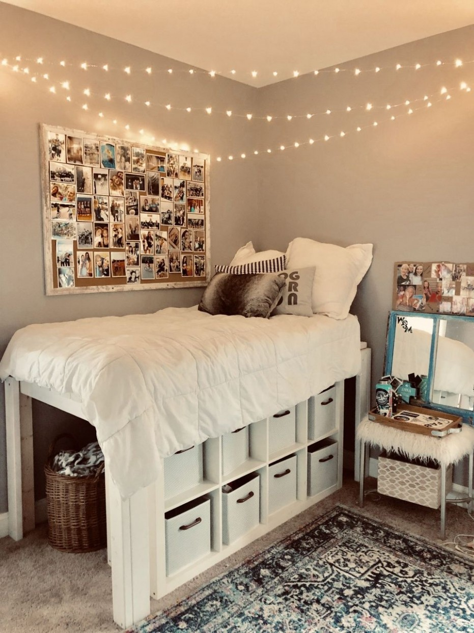 Shared Bedroom Ideas for Adults in 8  Cool dorm rooms, College  - Bedroom Ideas Adults