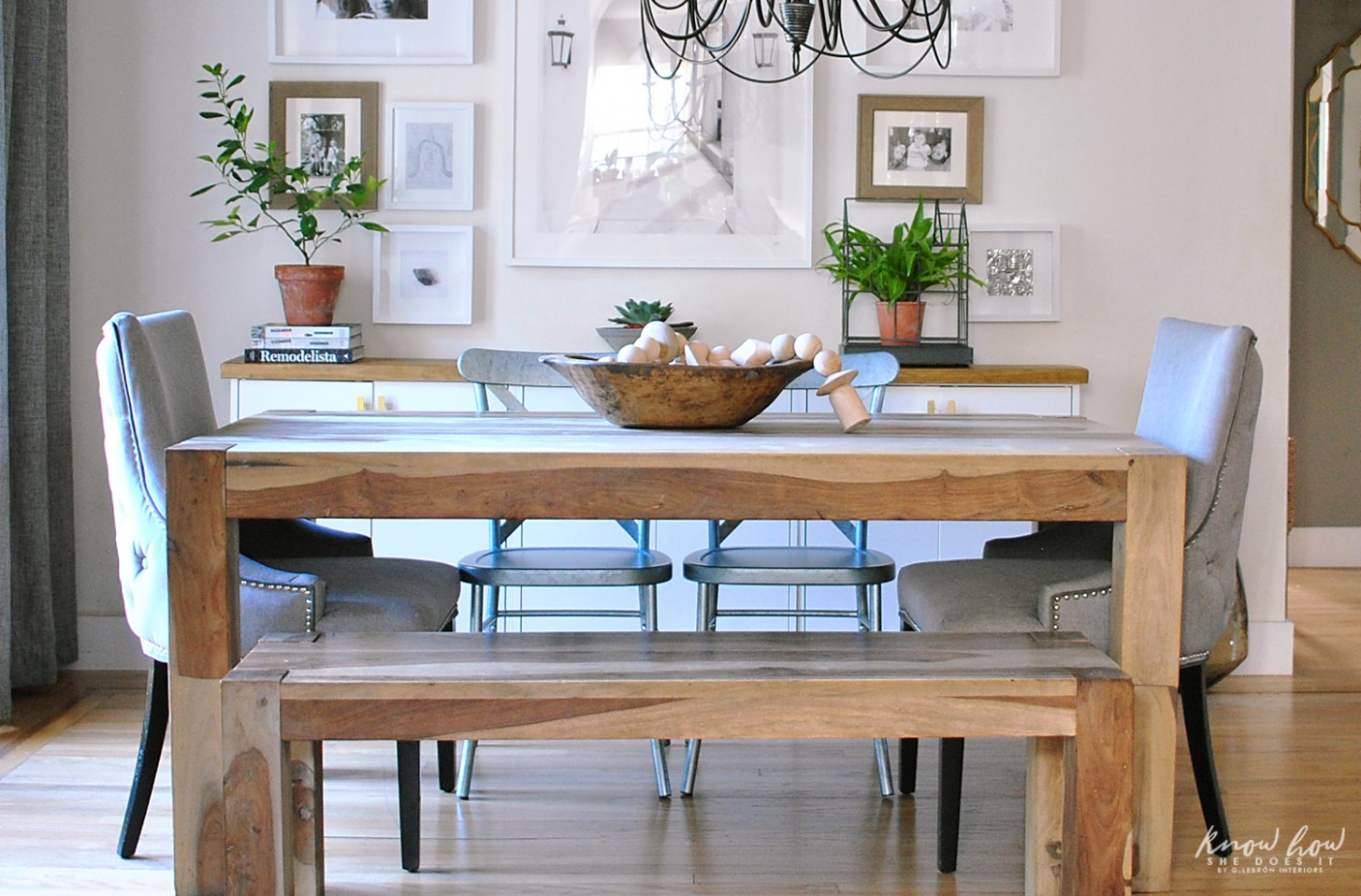 Simple dining room decor for a transitional season - Dining Room Ideas Simple