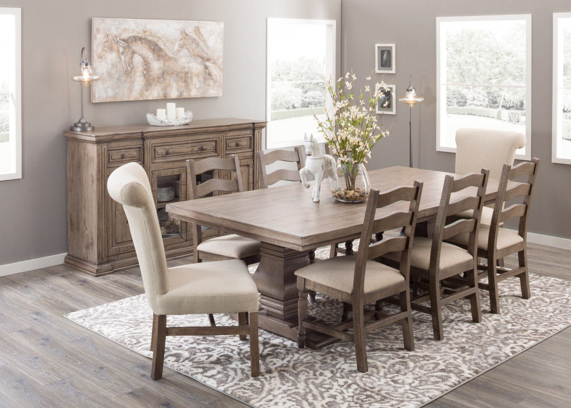 Simple Dining Room Decorating Tips  AFW