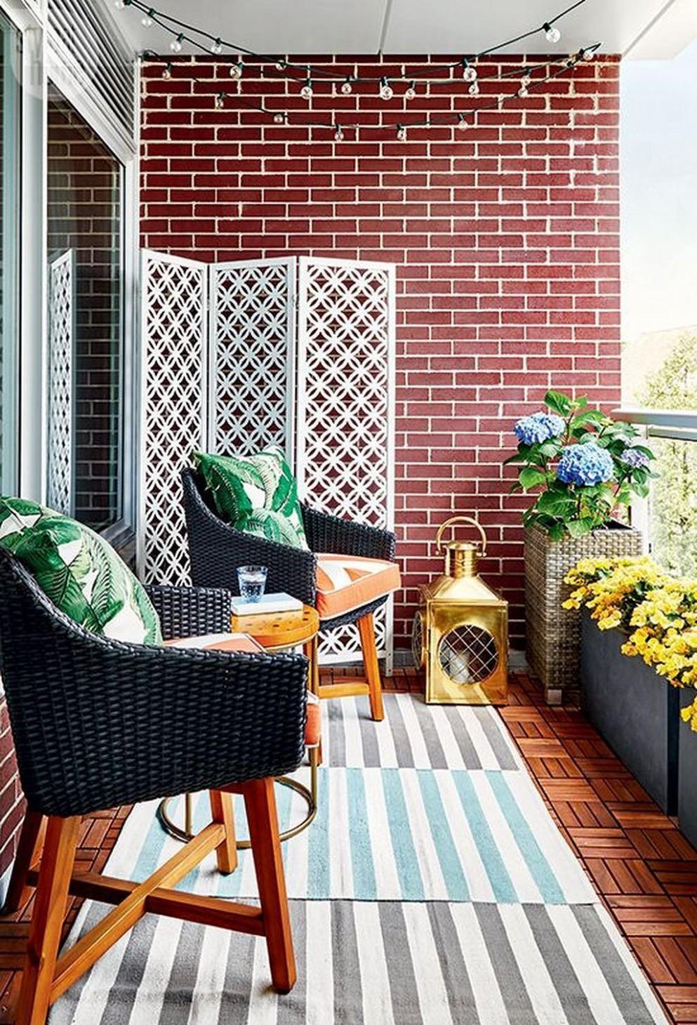Small Apartment Balcony Decor Ideas On A Budget (12)  Balcony  - Apartment Balcony Ideas On A Budget