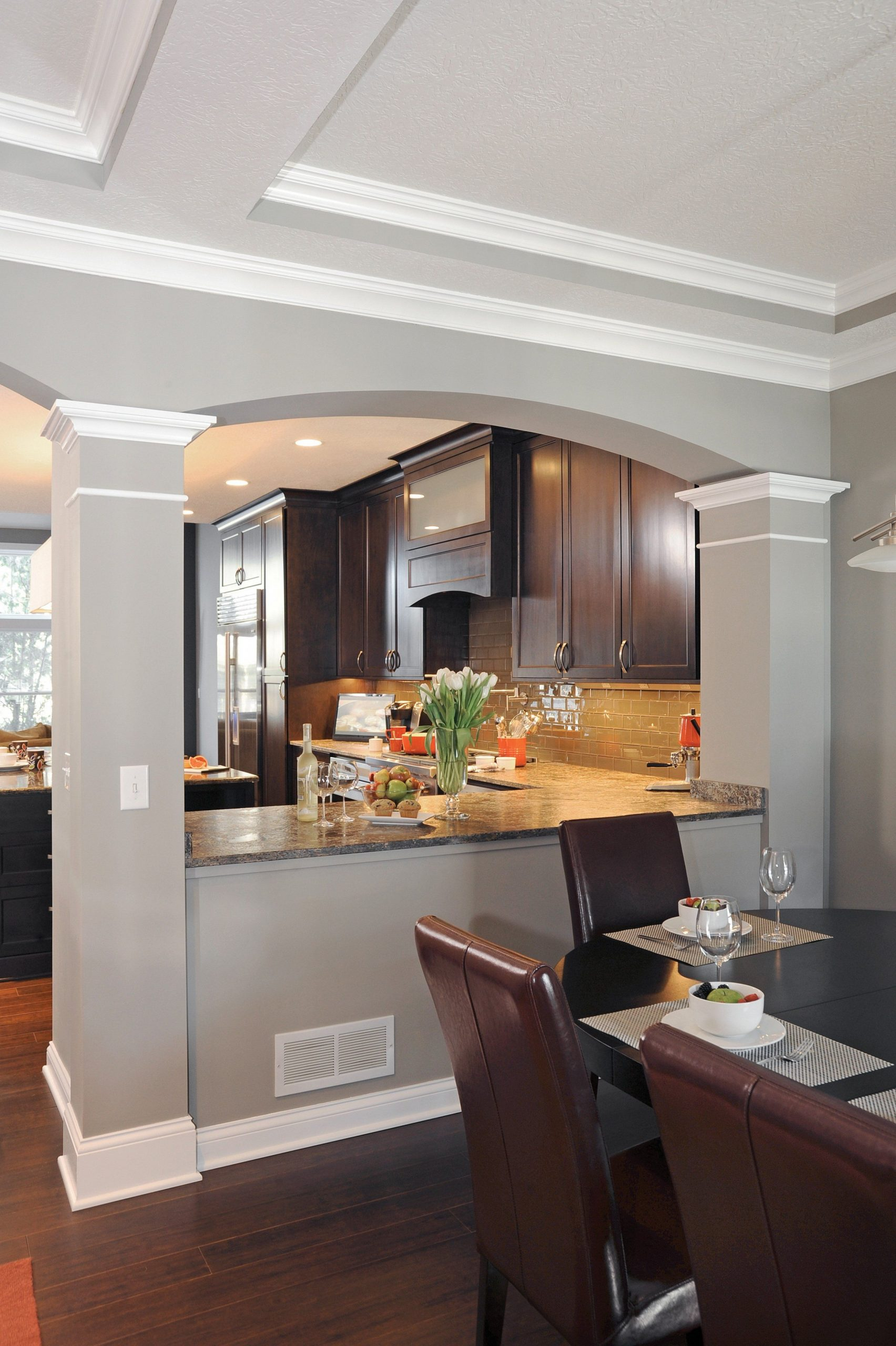 Small changes make for a big impact - Housetrends  Home kitchens  - Dining Room Kitchen Design Ideas