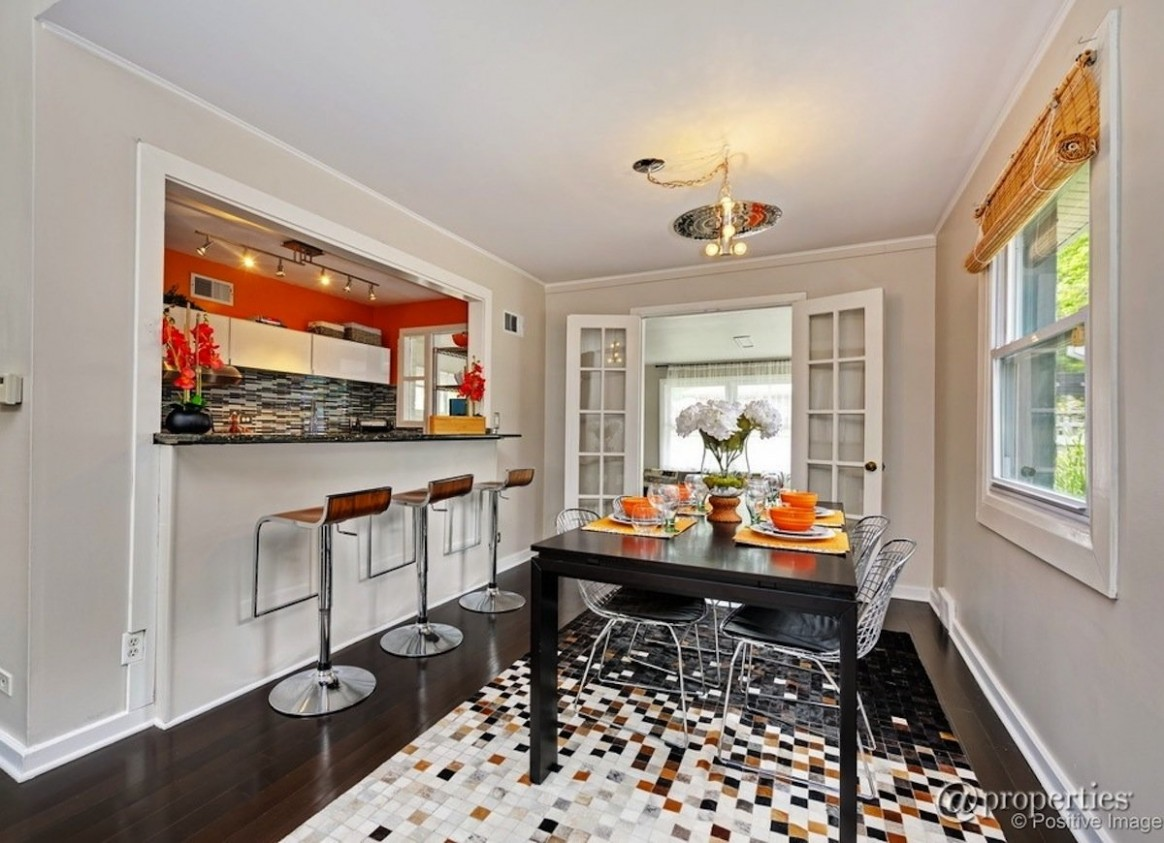 Small Dining Room: 11 Ways to Make It Work Double-Duty - Bob Vila - Dining Room Off Kitchen Ideas