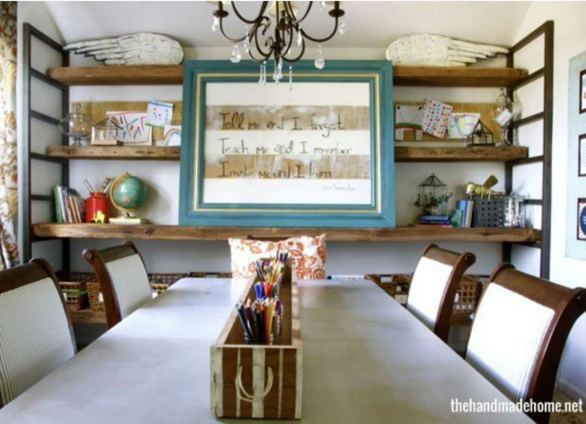 Small Dining Room: 11 Ways to Make It Work Double-Duty - Bob Vila - Dining Room Office Ideas