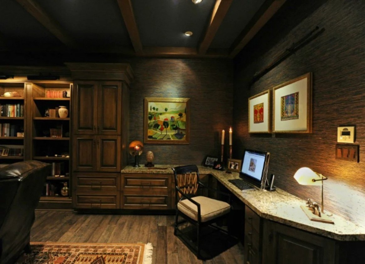 Small Home Office Ideas: 11 Ways to Create a Work Space Anywhere  - Home Office Ideas Basement