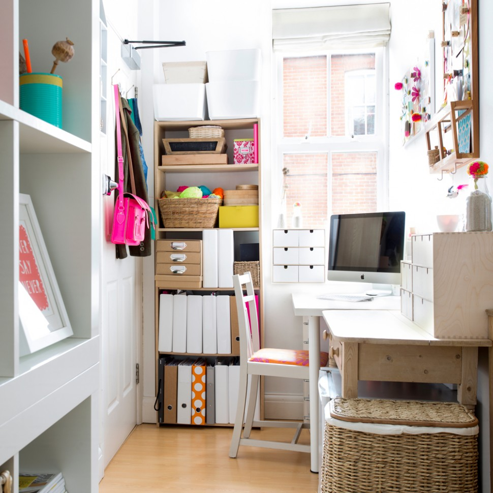 Small home office ideas – stir creativity no matter how tight the  - Home Office Storage Ideas Uk