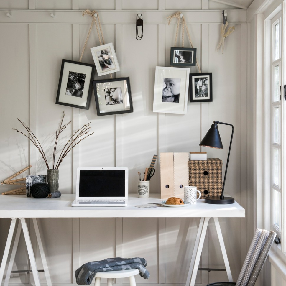 Small home office ideas – stir creativity no matter how tight the  - Home Office Table Ideas