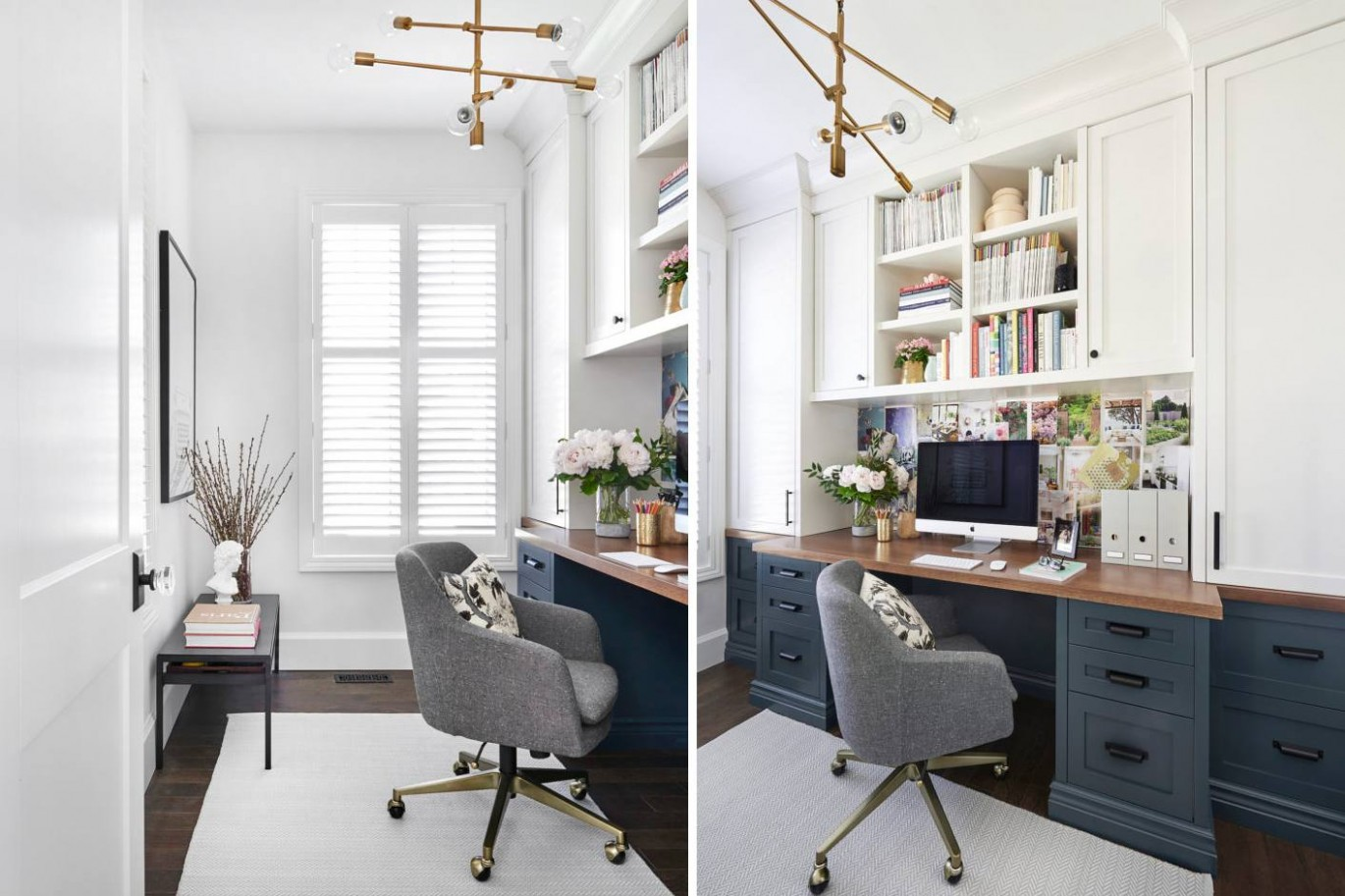 Small Home Office Ideas That Are Surprisingly Stylish - Home Office Ideas Pictures 10X10 Room