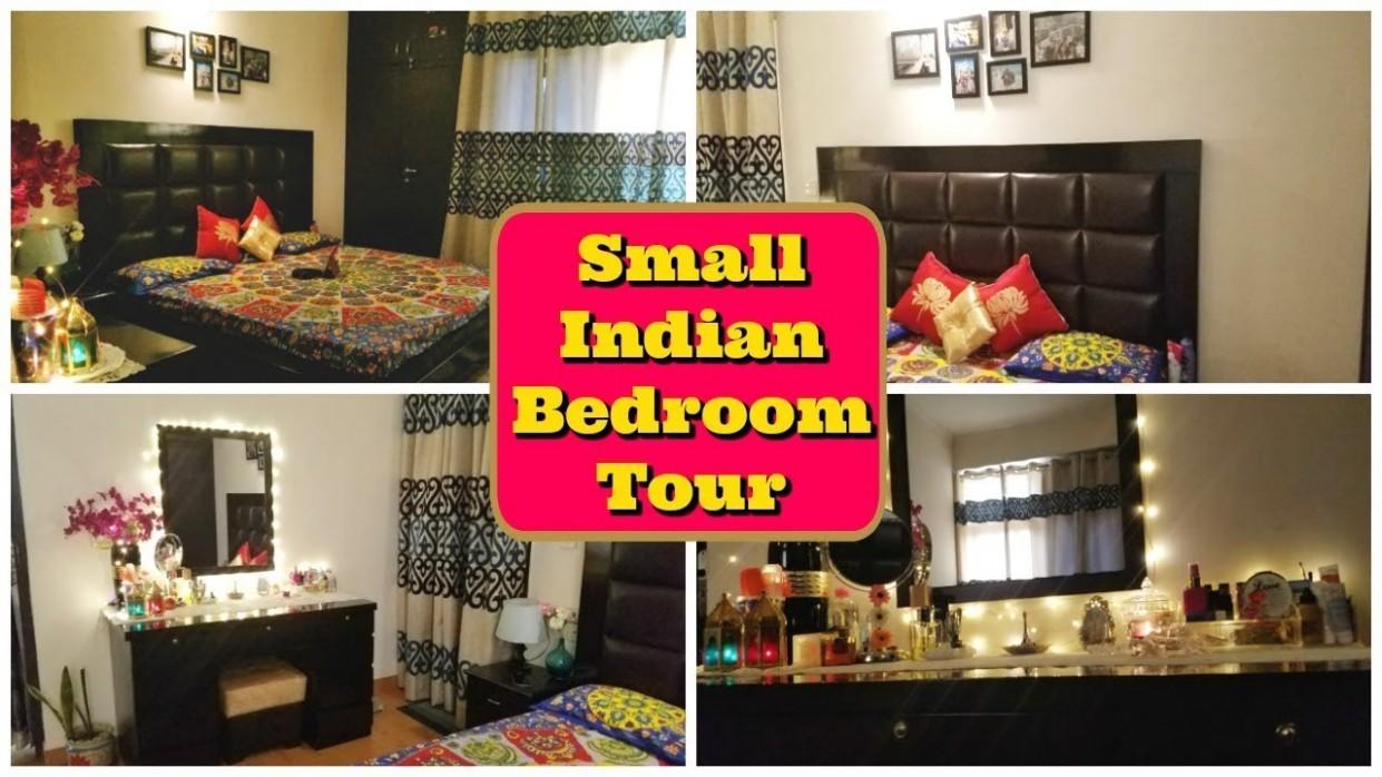 Small Indian Bedroom Tour  Small Bedroom Decor & Organization  Indian Mom  Studio - Bedroom Ideas India