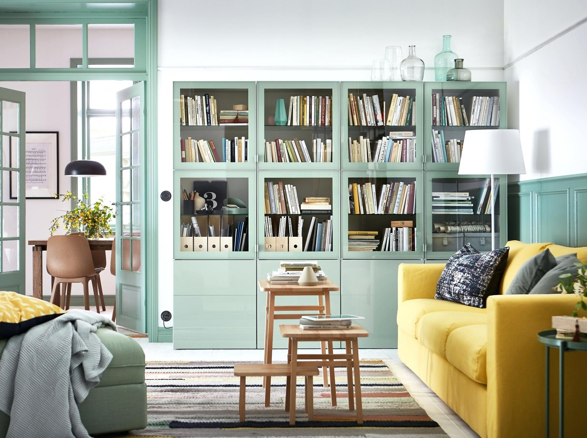 Small Living Room Layout Ideas from IKEA  Apartment Therapy - Apartment Decorating Ideas Ikea