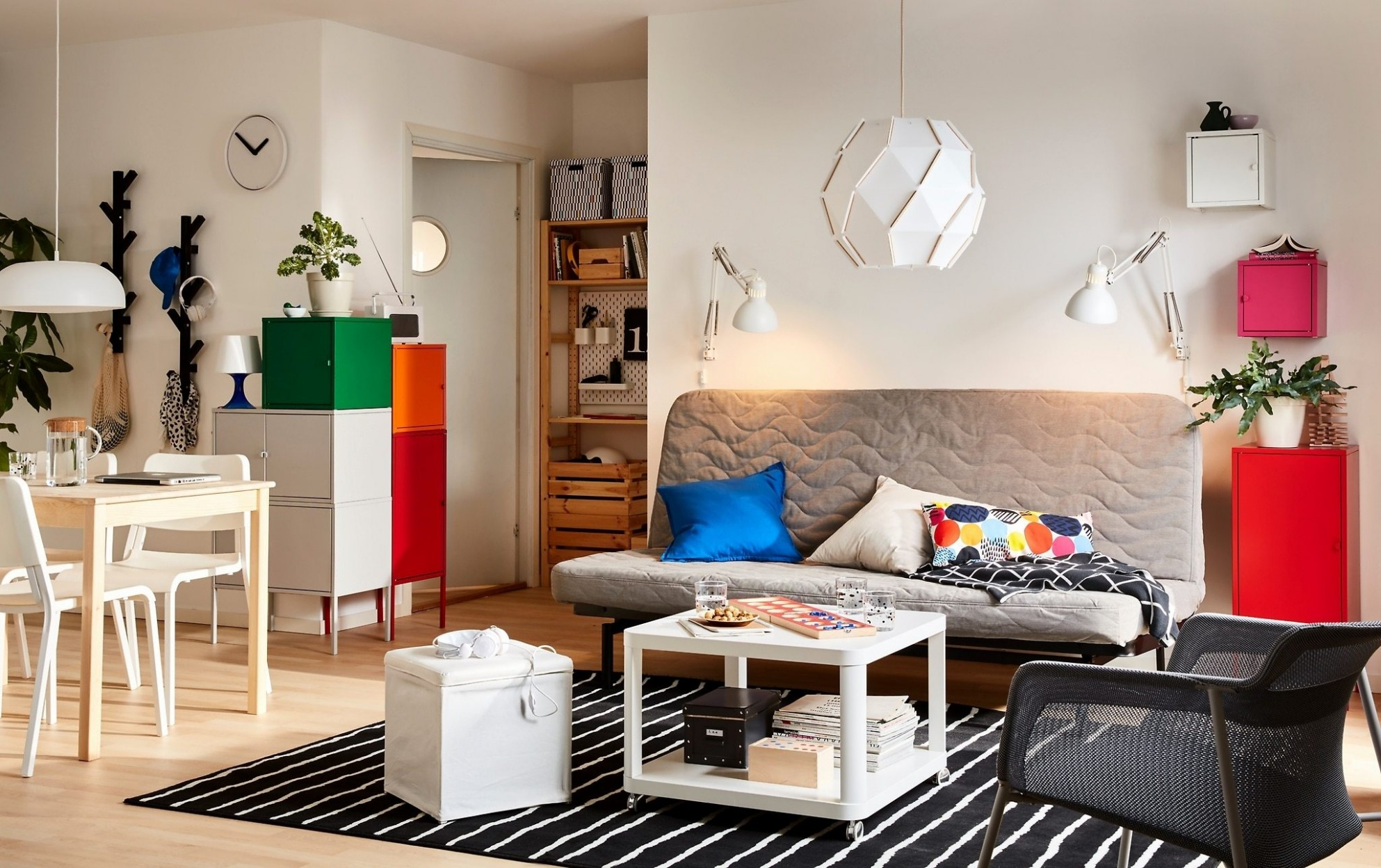 Small Living Room Layout Ideas from IKEA  Apartment Therapy - Small Apartment Decorating Ideas Ikea
