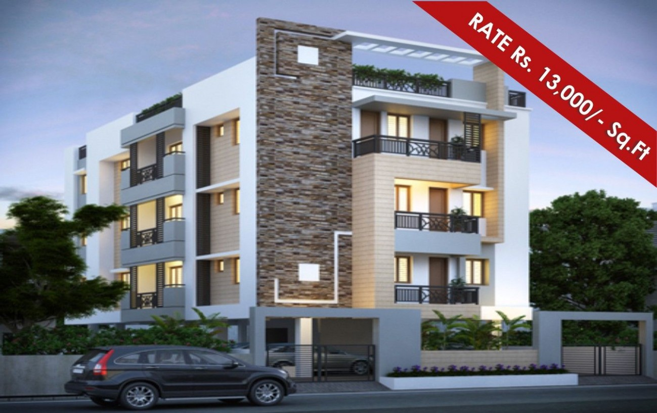 Small Modern Apartment Building In Great Contemporary Residential  - Apartment Design Building