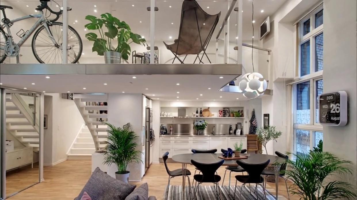 Small Studio Loft Apartment Design / Beautiful Modern Lofts - Apartment Design With Loft