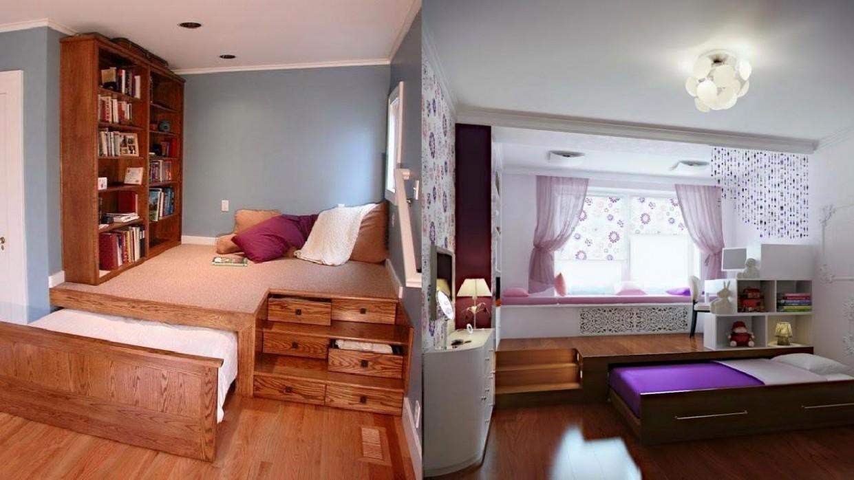 Space Saving Bedroom Ideas Youtube – layjao - Bedroom Ideas Space Saving