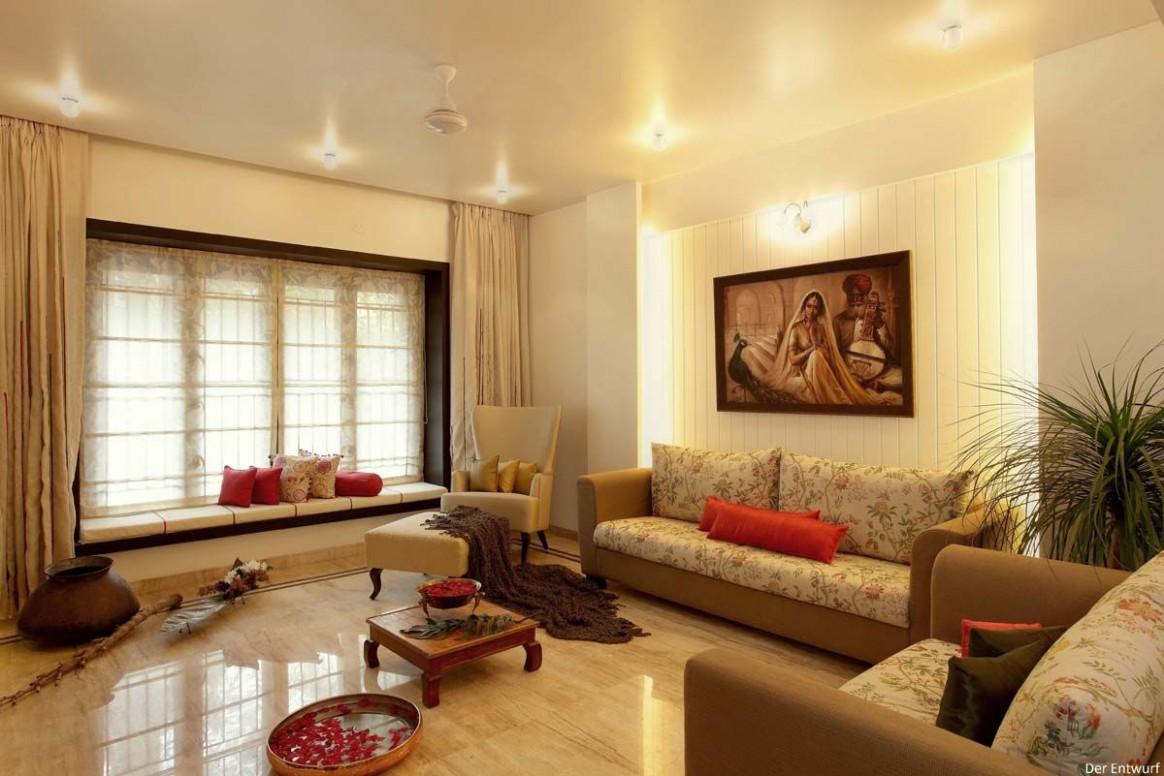 Spaces#decor  Indian living rooms, Interior decorating living  - Apartment Decorating Ideas India