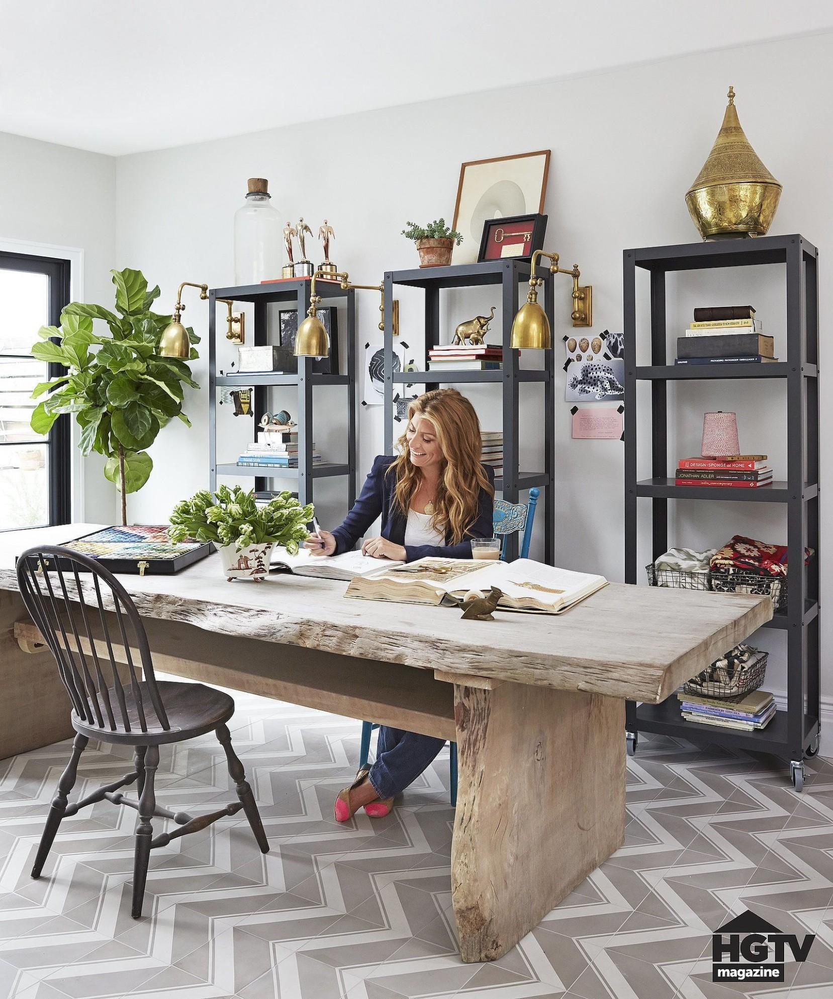 Statement-Making Desks  Dining room office, Home office decor  - Home Office Ideas In Dining Room