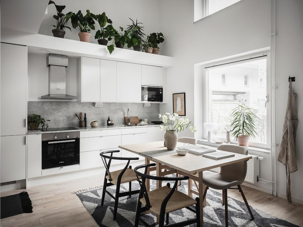 Steal Some Decor Ideas from this Small Duplex Apartment in Sweden  - Apartment Design Considerations
