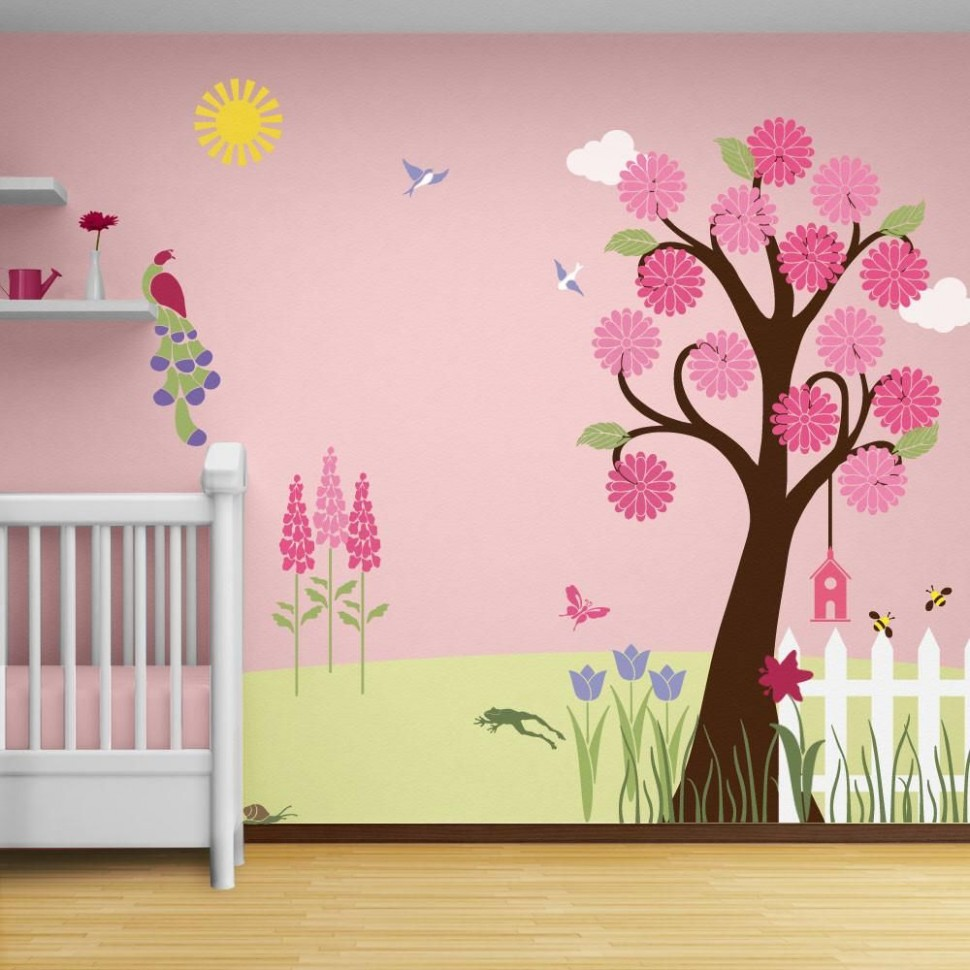 Stencils for Baby Room - Interior House Paint Ideas Check more at  - Baby Room Stencils