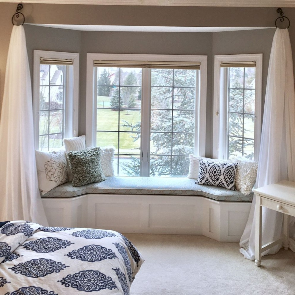 Stunning Window Seat Ideas Home to Z  Bedroom window seat, Bay  - Window Ideas For Bedroom