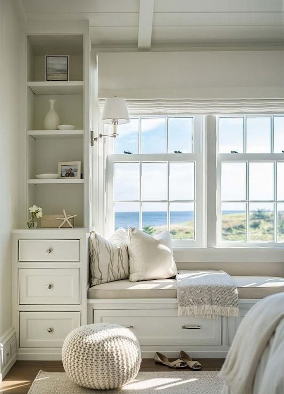 Stunning Window Seat Ideas Home to Z  Bedroom window seat, House  - Window Ideas For Bedroom