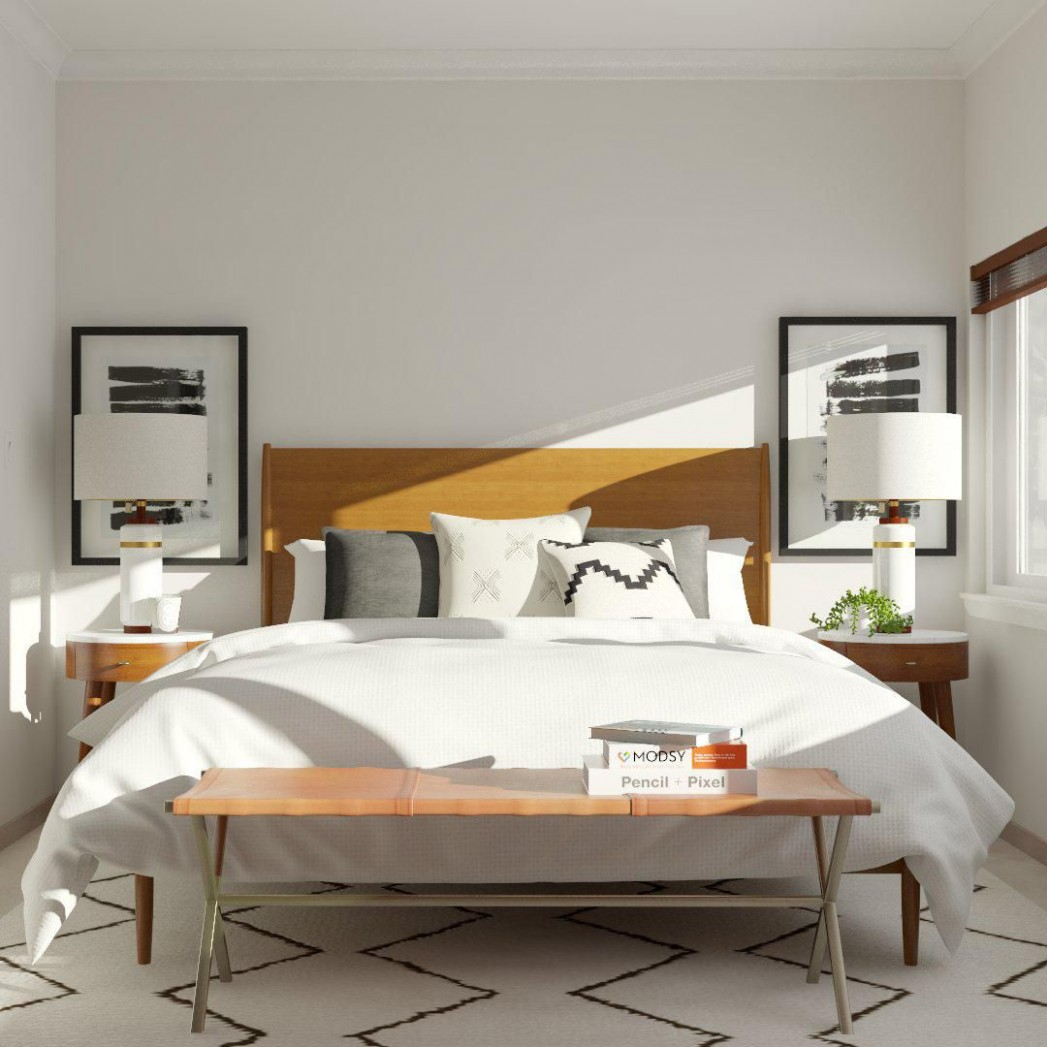 Style Spotlight: Mod Visionary  Modsy Blog in 10  Modern  - Bedroom Ideas Vintage Modern