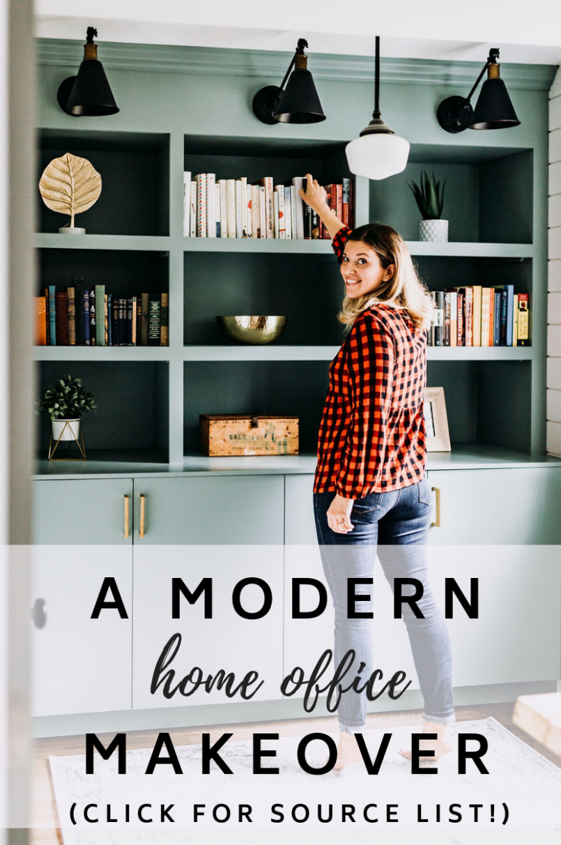 Stylish Home Office Decor [Before & After Makeover!]  Home office  - Home Office Redo Ideas