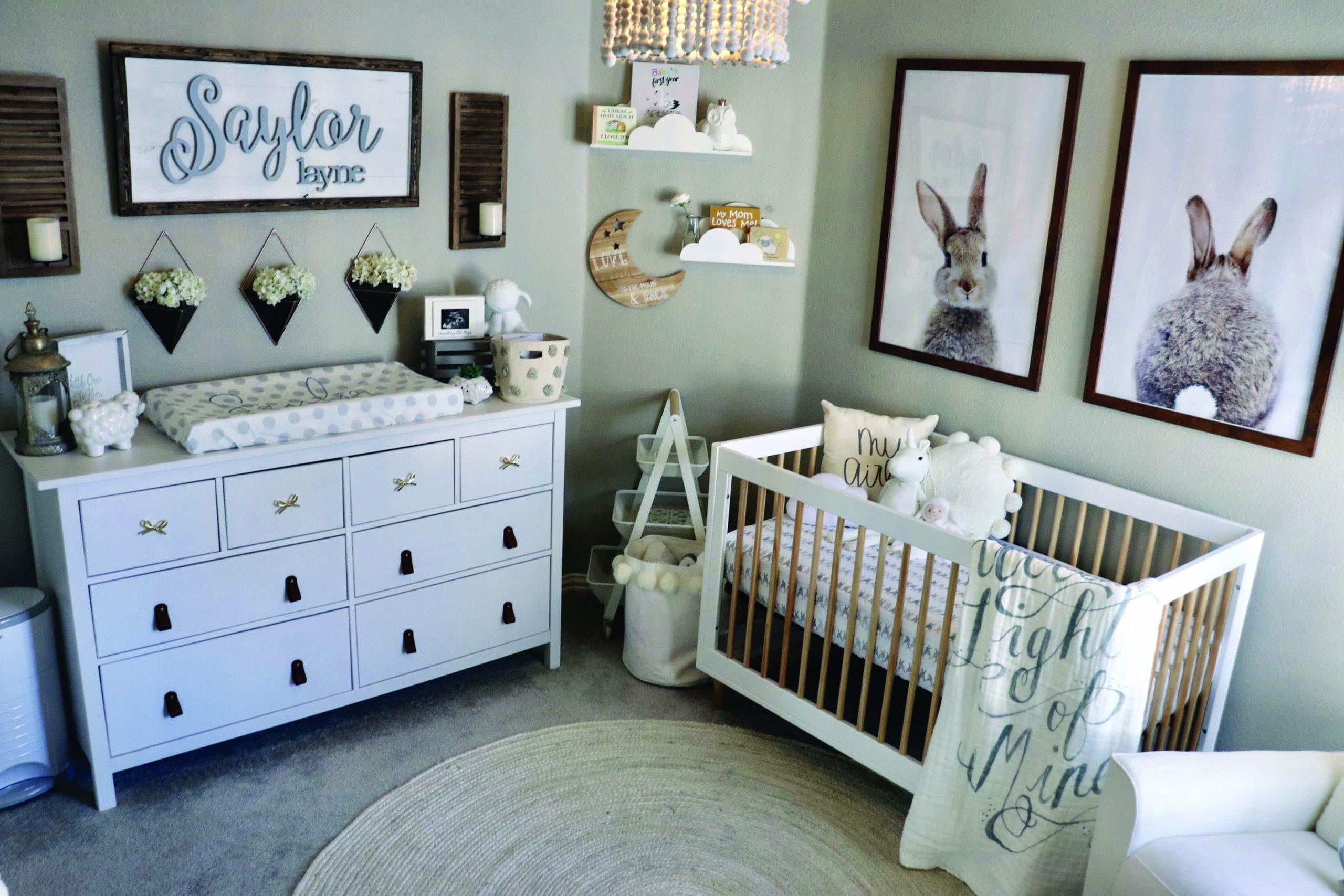 Sweet and also Simple Nursery Designs - Homes Tre  Nursery baby  - Baby Room Interior