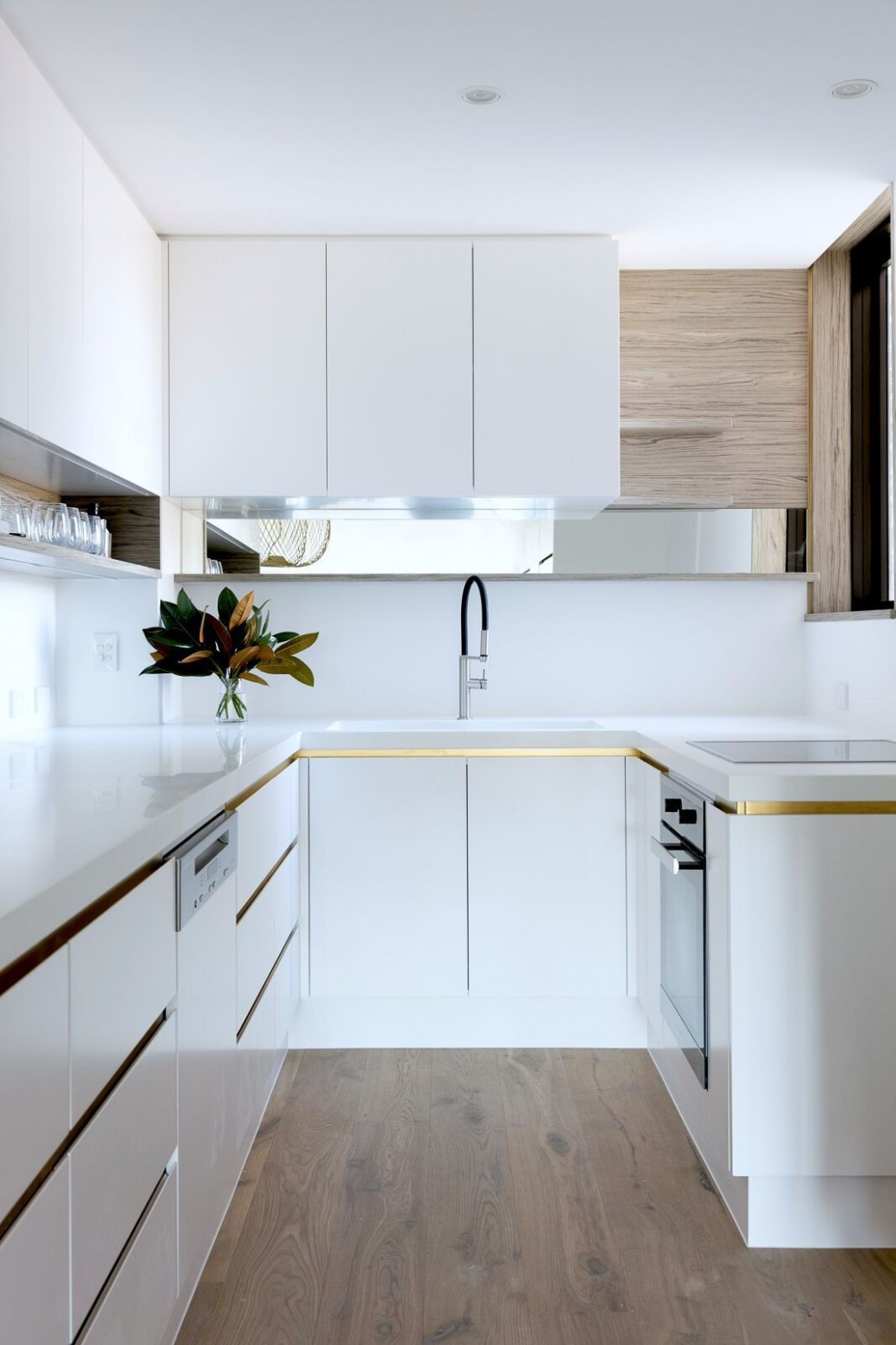Sydney Harbour View · Jillian Dinkel · Interior Design & Styling  - Apartment Kitchen Design Sydney