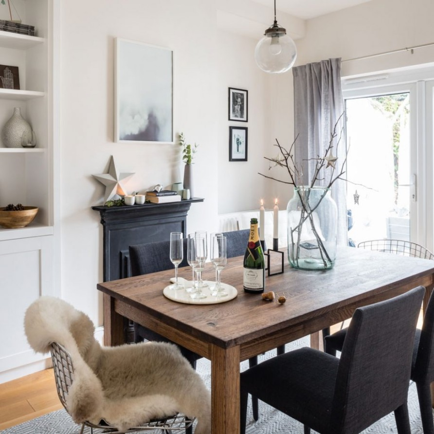 Take a look round this cosy Victorian terrace with modern decor  - Modern Victorian Dining Room Ideas