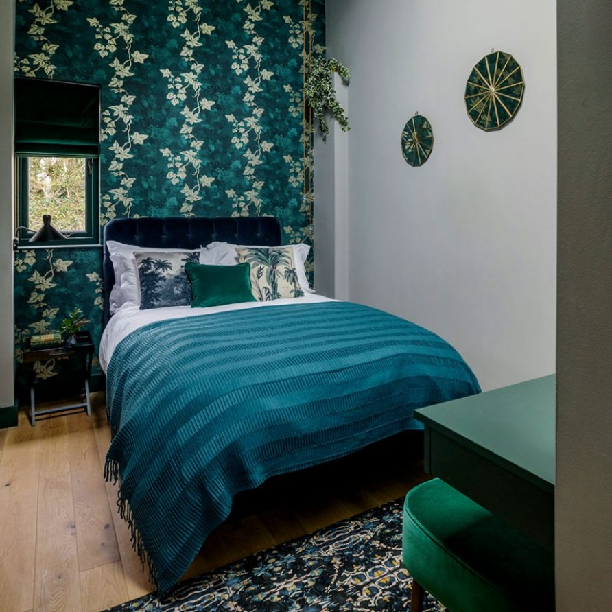 Teal bedroom ideas - drift off in a snug yet stylish sanctuary - Bedroom Ideas Teal