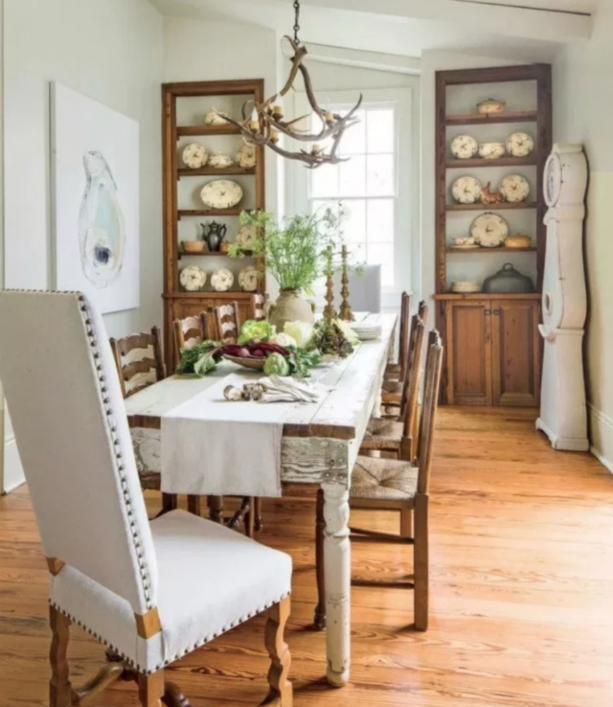 The 11 Most Beautiful Dining Rooms on Pinterest - Sanctuary Home  - Dining Room Ideas Small Spaces Pinterest