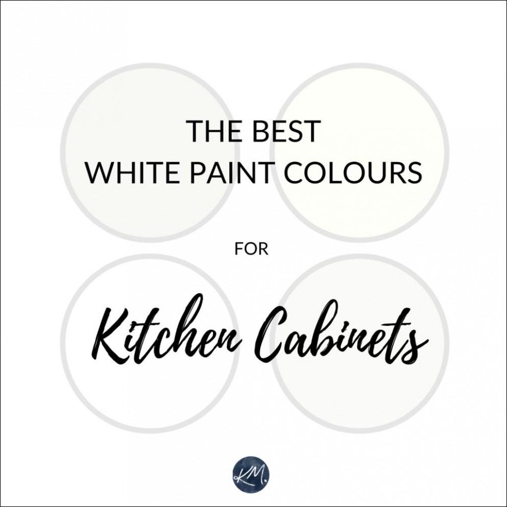 The 8 Best White Paint Colours for Cabinets: Benjamin Moore and  - Best White Paint For Kitchen Cabinets Sherwin Williams